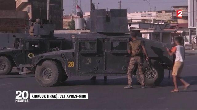 Kirkouk : les forces irakiennes à la reconquête