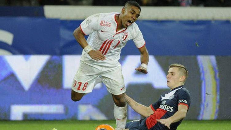Le défenseur de Lille, Franck Béria