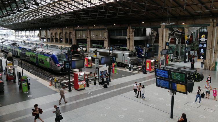 La gare du Nord, le 10 juillet 2020. (CYRILLE ARDAUD / RADIO FRANCE)