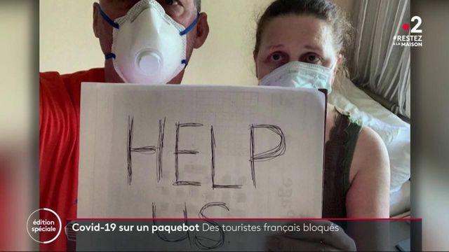 Coronavirus: des Français bloqués sur un paquebot au large du Panama