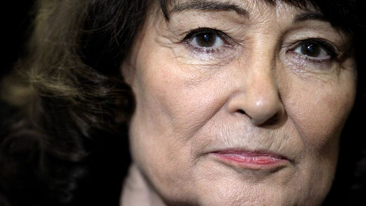 La philosophe Sylviane Agacinski, à Reims (Marne), le 8 mars 2012. (FRANCOIS NASCIMBENI / AFP)