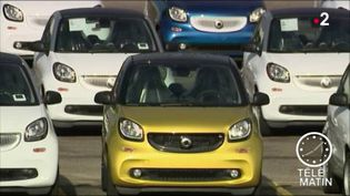 La Smart est la voiture la plus volée en France. (FRANCE 2)