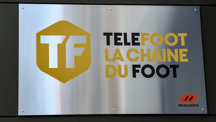 Téléfoot, la nouvelle chaîne de Mediapro (BERTRAND GUAY / AFP)