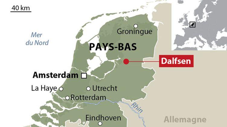 (L'accident de train s'est produit à une quarantaine de km de la frontière allemande © Idé)