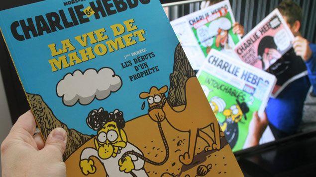 (La vie de Mahomet, BD satirique de Charb et Zineb © MAXPPP)