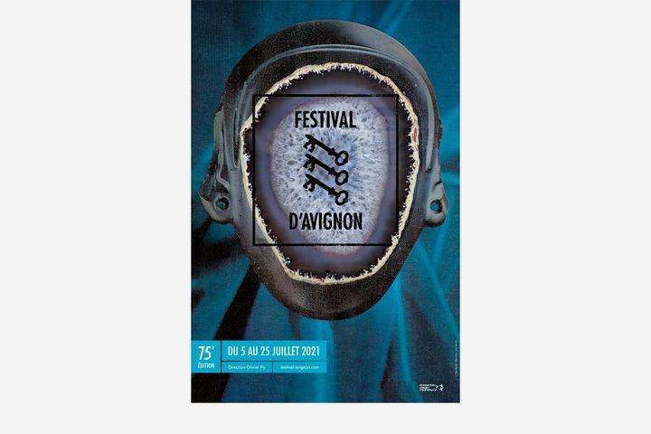 Affiche de la 75e édition du Festival d'Avignon (Festival d'Avignon)