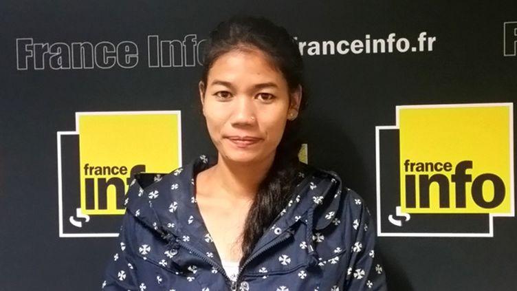 (Urmila était esclave domestique au Népal de 6 à 18 ans © Elise Delève / France Info)