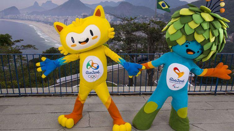 Les mascottes des Jeux Olympiques et Paralympiques de Rio 2016