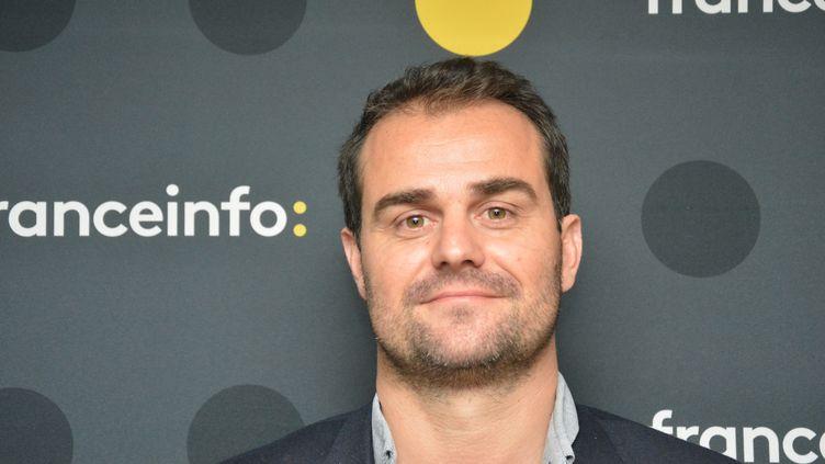 """Jérôme Cazadieu, directeur de la rédaction de """"L'Équipe"""". (JEAN-CHRISTOPHE BOURDILLAT / RADIO FRANCE)"""