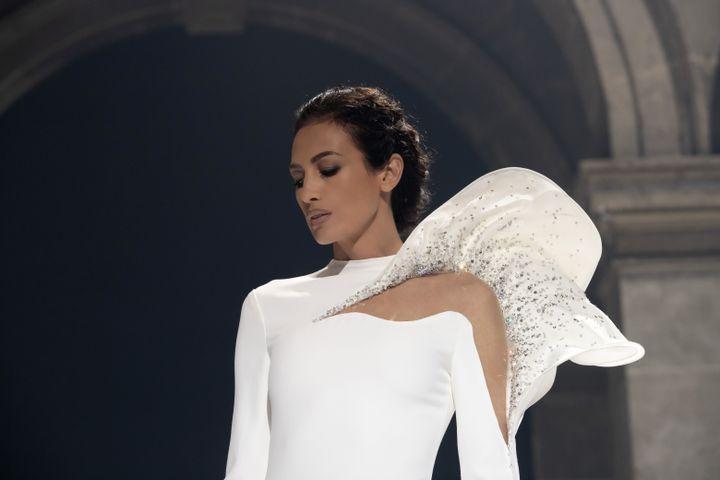 Stéphane Rolland haute couture printemps-été 2021, à Paris, le 26 janvier 2021 (Stéphane Rolland)