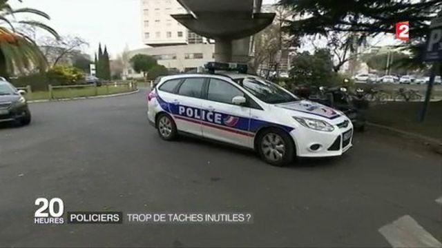 Policiers : trop de tâches indues