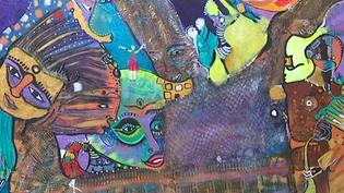 L'Afrique enchantée du peintre Magule Wango, à la MCJ Gallery à Marseille jusqu'au 1er octobre  (Culturebox - capture d'écran)