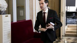 Le député LR Guillaume Larrivé, à l'Assemblée nationale, le 30 mai 2018. (MAXPPP)