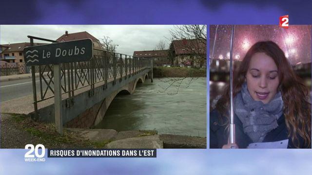 Besançon : risques d'inondations dans l'Est