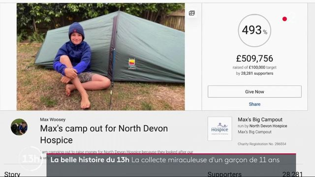 Angleterre : un garçon de 11 ans récolte 600 000 euros pour les soignants