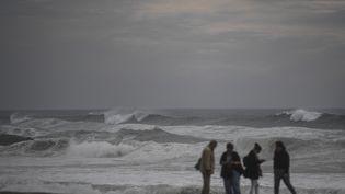 La tempête Leslie a frappé le Portugal le 13 octobre 2018. (PATRICIA DE MELO MOREIRA / AFP)