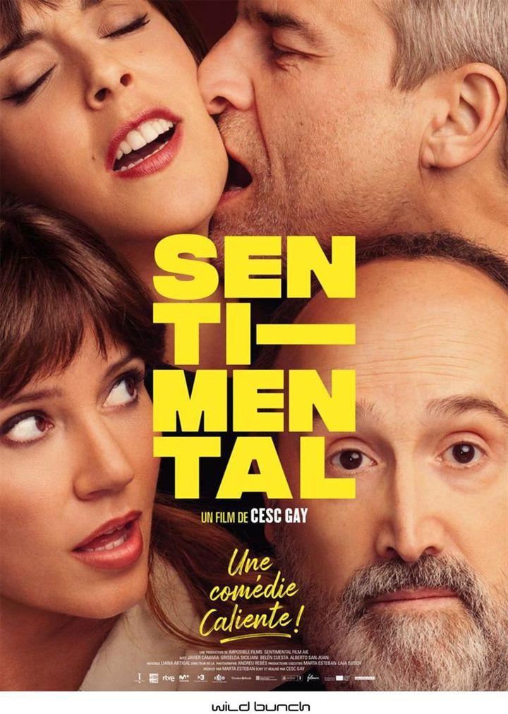 """L'affiche de""""Sentimental"""" deCesc Gay (2021). (WILD BUNCH DISTRIBUTION)"""