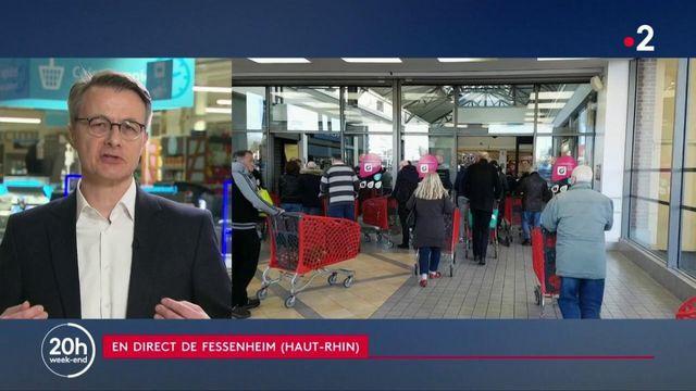"""Coronavirus : """"nos entrepôts sont livrés et nos magasins resteront ouverts"""", assure Dominique Schelcher, patron du groupe Système U"""