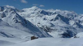 L'avalanche s'est déroulée vers le refuge du Carro, à Bonneval-sur-Arc (Savoie). (FRANCE 3)