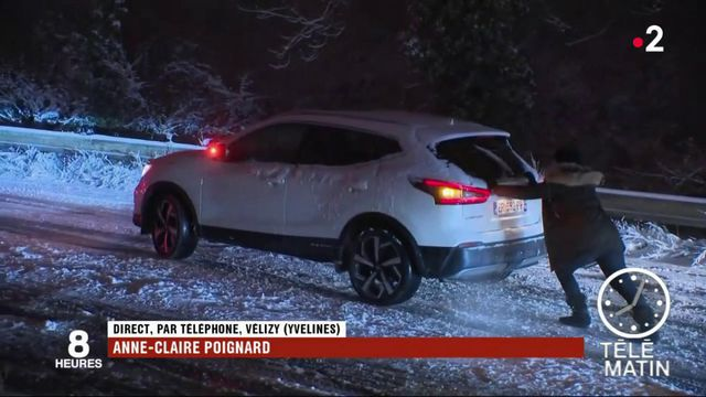 Neige : une nuit avec les franciliens naufragés de la N118