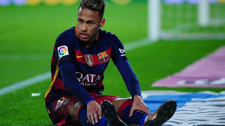 Le Brésilien Neymar lors d'un match à Barcelone, le 27 janvier 2016. (BRISA P. / NURPHOTO / AFP)