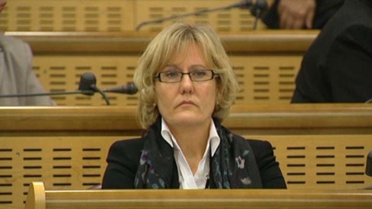 Nadine Morano, ministre de l'Apprentissage (France Télévisions Lorraine.)