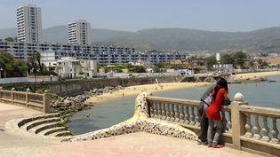 Plage Saint-Cloud (Rachid Fellah), non loin d'Annaba, en Algérie, le 6 mars 2010. (FR?D?RIC SOREAU / PHOTONONSTOP)
