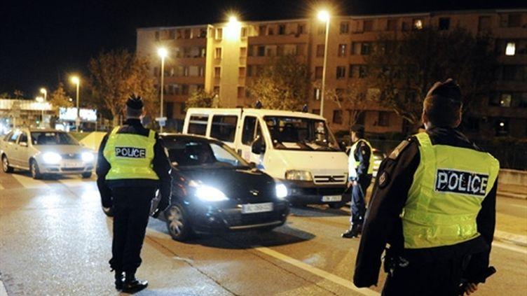 Les policiers ont libéré un buraliste marseillais retenu pendant 6 jours près d'Aix-en-Provence (AFP. G.Julien)