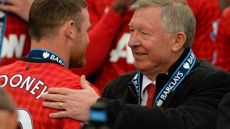 Wayne Rooney aimerait quitter Manchester United à la fin de la saison.  (ANDREW YATES / AFP)