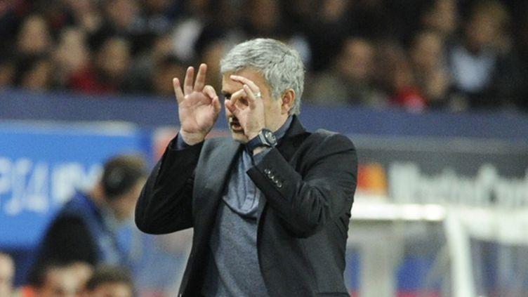 José Mourinho fait la moue (JEAN MARIE HERVIO / DPPI MEDIA)