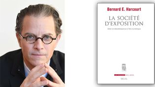 """Bernard E.Harcourt, professeur de philosophie politique à Columbia University, est l'auteur de l'essai """"La société d'exposition"""" paru en janvier 2020. (EILEEN BARROSO / EDITIONS DU SEUIL)"""