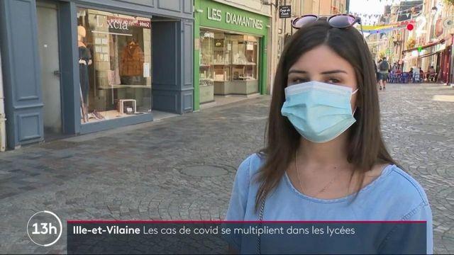 Covid-19 : les lycées d'Ille-et-Vilaine particulièrement touchés