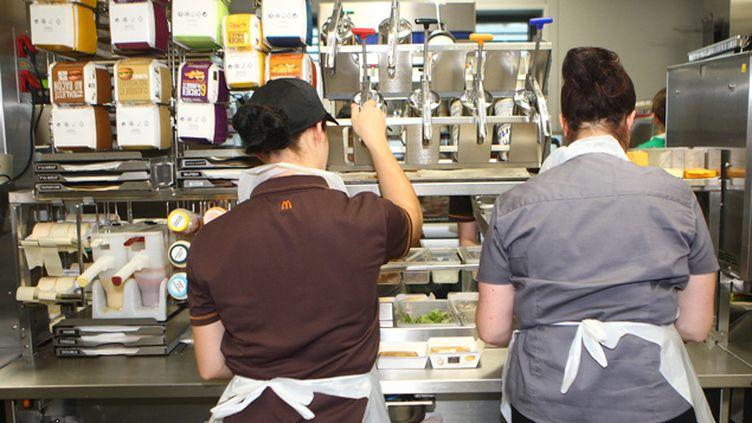 (Les salariés de McDonald's France ne toucherait pas d'intéressement à cause des pratiques comptables du groupe © Maxppp)