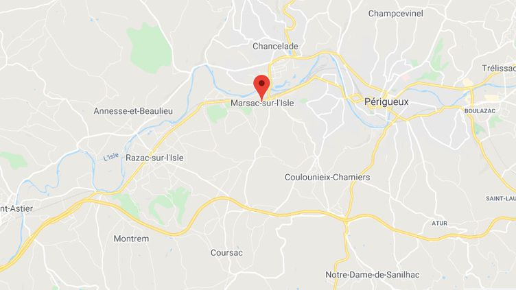 Marsac-sur-l'Isle (Dordogne). (GOOGLE MAPS)