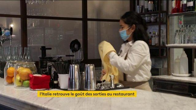 Italie : la vie reprend avec la réouverture des restaurants