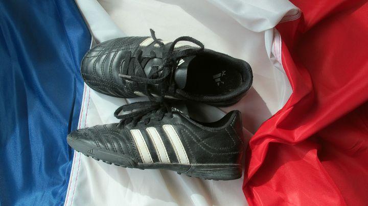 Tapie vend Adidas pour pouvoir devenir ministre. ( EMMA DEFAUD / FRANCETV INFO)