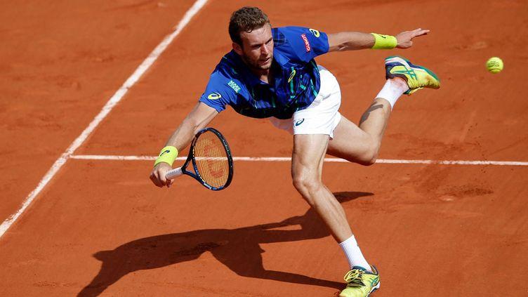 (Mathias Bourgue, 164ème joueur mondial, avait été invité à participer au tournoi © MaxPPP)
