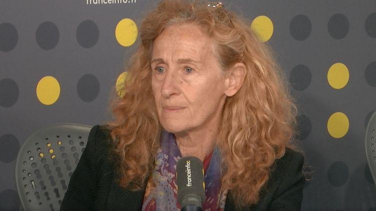 La ministre de la Justice Nicole Belloubet invitée de franceinfo le 16 octobre 2019. (FRANCEINFO / RADIO FRANCE)