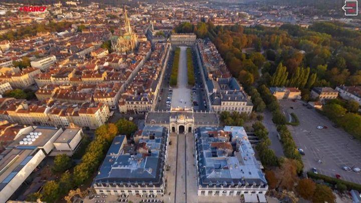 La ville de Nancy telle que vous ne l'avez probablement jamais vue. (visitnancy360.com)