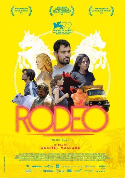 """Rodéo"" : L'affiche française  (Damned Distribution )"
