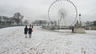 Le parc des Tuileries à Paris, le 5 février 2018. (GIUSEPPE AMOS / CROWDSPARK)