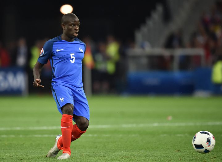 L'international tricolore N'Golo Kanté
