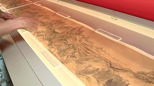 140 oeuvres exceptionnelles du Musée d'art de Pékin sont exposées pour la première fois en France, à Gaillac (Tarn)  (Culturebox - capture d'écran)