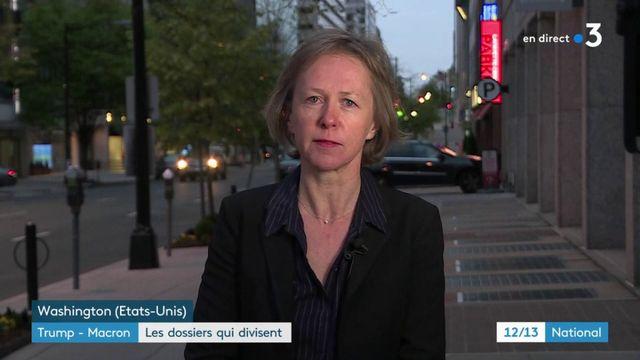 Trump-Macron : les sujets qui fâchent au menu de la visite d'État