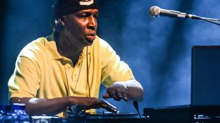 "Grandmaster Flash ""on the wheels of steel"" à Londres en 2014.  (Andy Sheppard/Redferns via Getty Images)"
