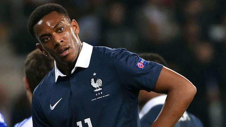 L'attaquant des Bleus, Anthony Martial