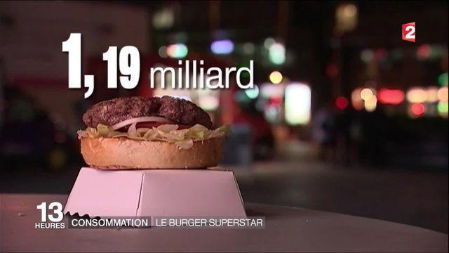 Consommation : le burger superstar