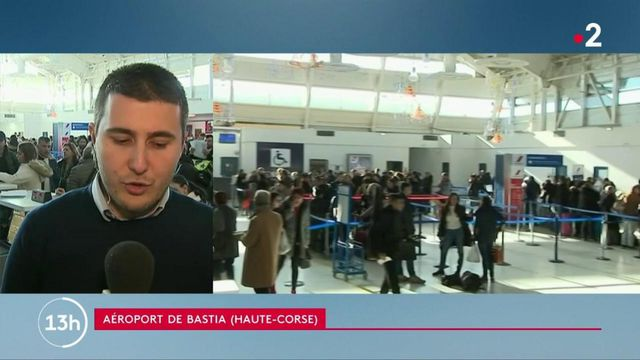 Corse : l'aéroport de Bastia accueille les passagers venant d'Ajaccio