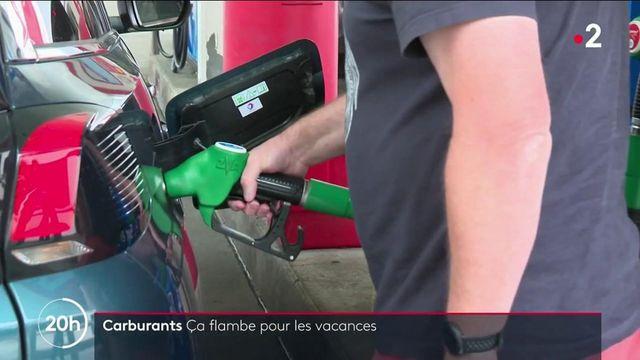 Carburants : flambée des prix à l'approche des vacances