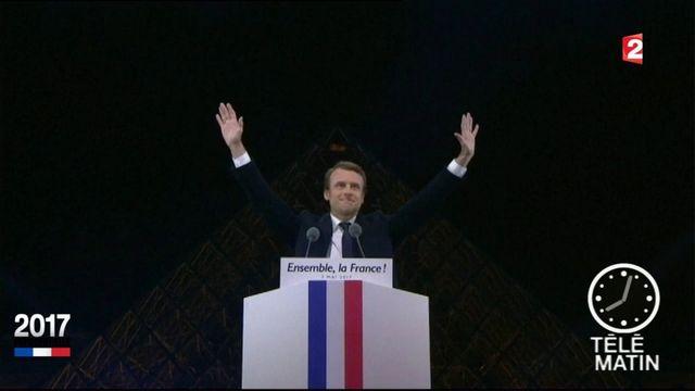 Présidentielle : Emmanuel Macron, une soirée historique